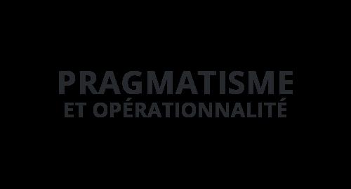 Pragmatisme et opérationnalité